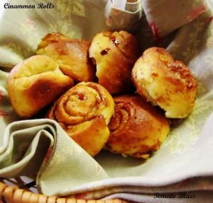 Cinnamon Rolls ~ Gourmet Seven