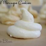 Vanilla Meringue Cookie Recipe | Easy Cookie Recipes