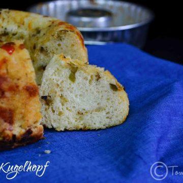 Eggless Savory Kugelhopf Recipe| Yeast Bread Recipes| We Knead To Bake #7