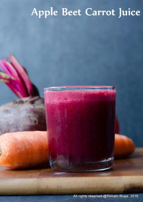 ABC juice or apple beetroot carrot juice