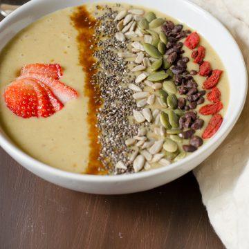 sweet potato smoothie bowl