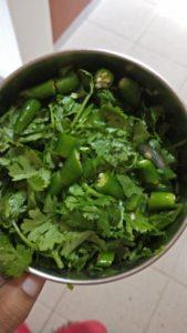 Dhania Chole masala step by step