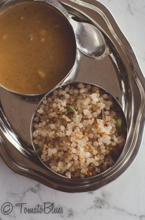 Non sticky sabudhana kichdi