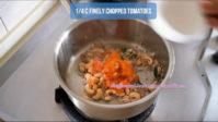 how to make cauliflower cashew curry step by step
