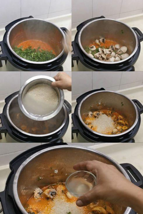 instant pot seeraga samba biryani step by step