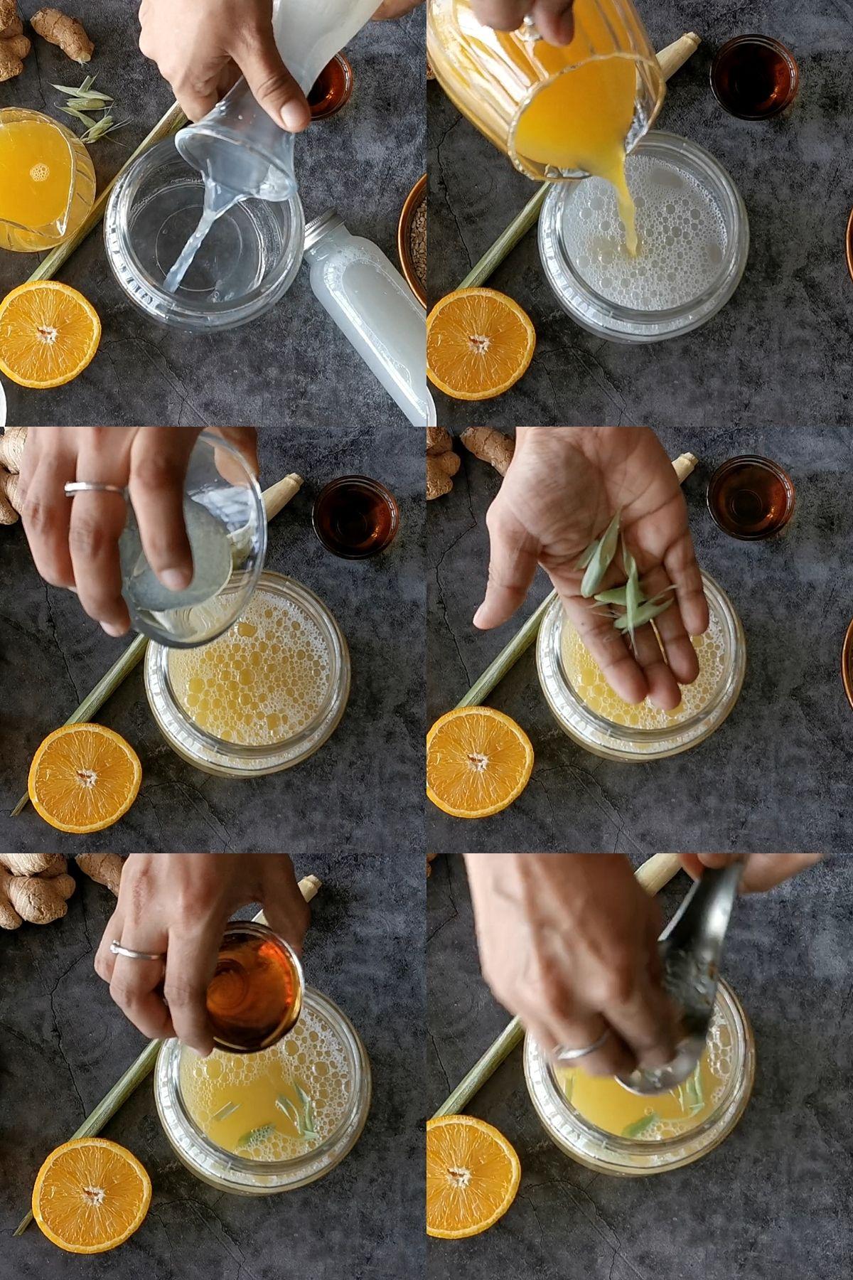 how to make barley lemonade step by step